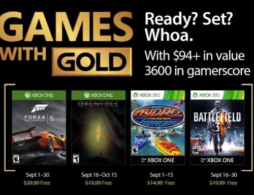 Xbox Games With Gold – September 2017