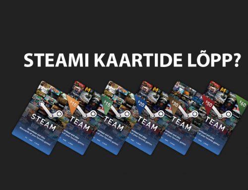 Steami kinkekaardid kaovad ajalukku?