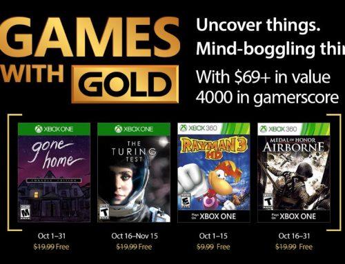 Xbox Live Gold tasuta mängud– Oktoober 2017