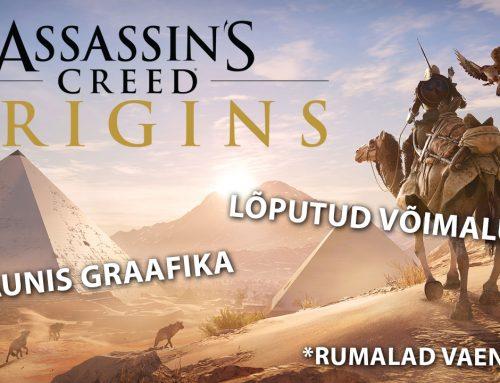 Assassin's Creed: Origins – üle 100 tunni lõputuid võimalusi
