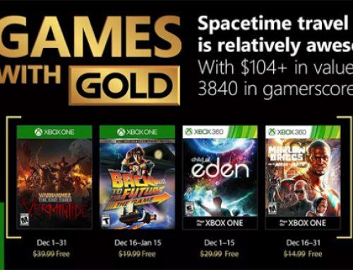 Xbox Live Gold tasuta mängud – Detsember 2017