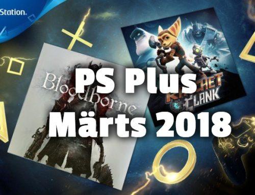 PlayStation Plus tasuta mängud – Märts 2018