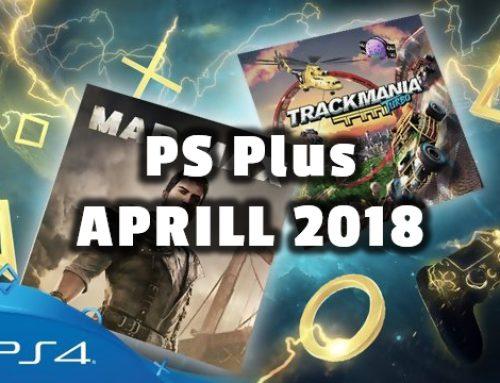 PlayStation Plus tasuta mängud – Aprill 2018