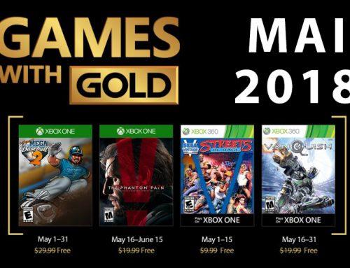 Xbox Live Gold tasuta mängud – Mai 2018