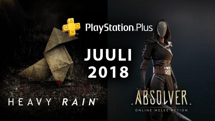PlayStation Plus tasuta mängud – Juuli 2018