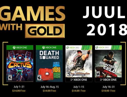 Xbox Live Gold tasuta mängud – Juuli 2018