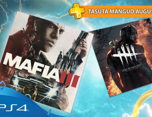 PlayStation Plus tasuta mängud – August 2018