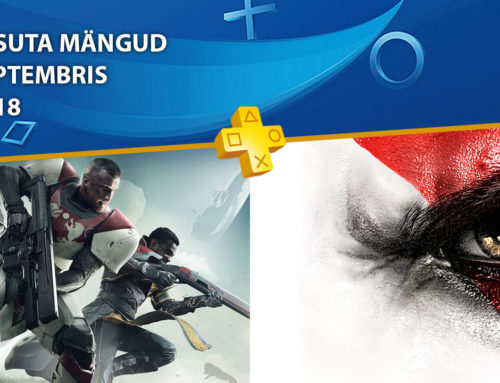 PlayStation Plus tasuta mängud – September 2018
