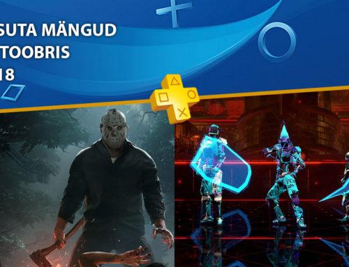 PlayStation Plus tasuta mängud – Oktoober 2018