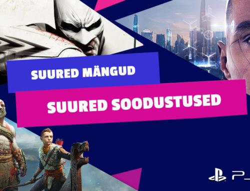 Säästa PlayStationi mängudelt kuni 60%