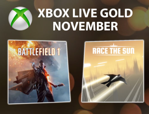 Xbox Live Gold tasuta mängud – November 2018