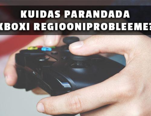 Õpetus: Kuidas parandada Xboxi konto regiooniprobleeme?