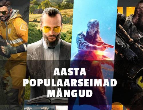 Mis olid 2018. aasta populaarseimad mängud?