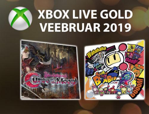 Xbox Live Gold tasuta mängud – Veebruar 2019