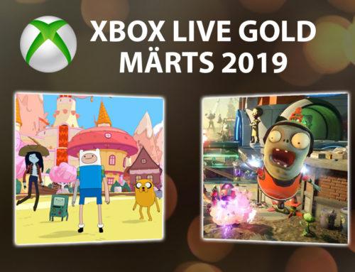 Xbox Live Gold tasuta mängud – Märts 2019