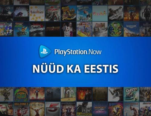 PlayStation Now nüüd kasutatav ka Eestis