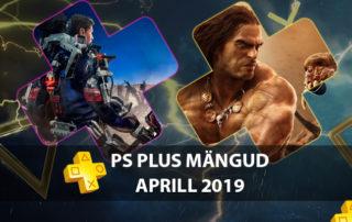 PlayStation Plus tasuta mängud aprill 2019