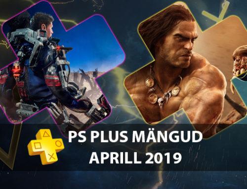 PlayStation Plus tasuta mängud – Aprill 2019