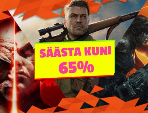 Säästa kuni 65% enam kui 200-lt PlayStationi mängult