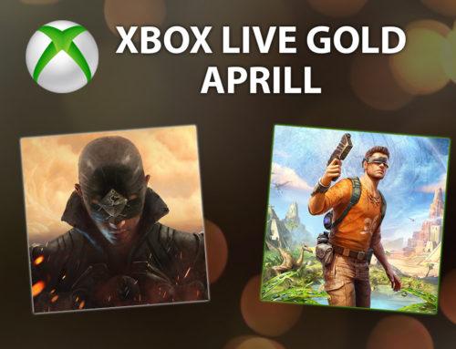 Xbox Live Gold tasuta mängud – Aprill 2019