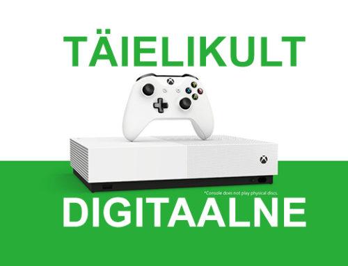 Xboxi järgmine konsool on 100% digitaalne