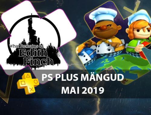 PlayStation Plus tasuta mängud – Mai 2019