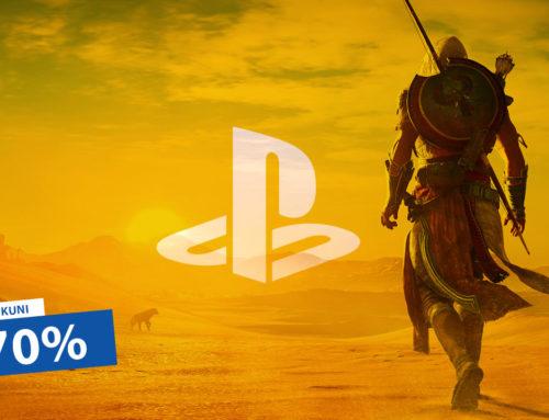 PlayStationi mängud kuni 70% soodsamalt!
