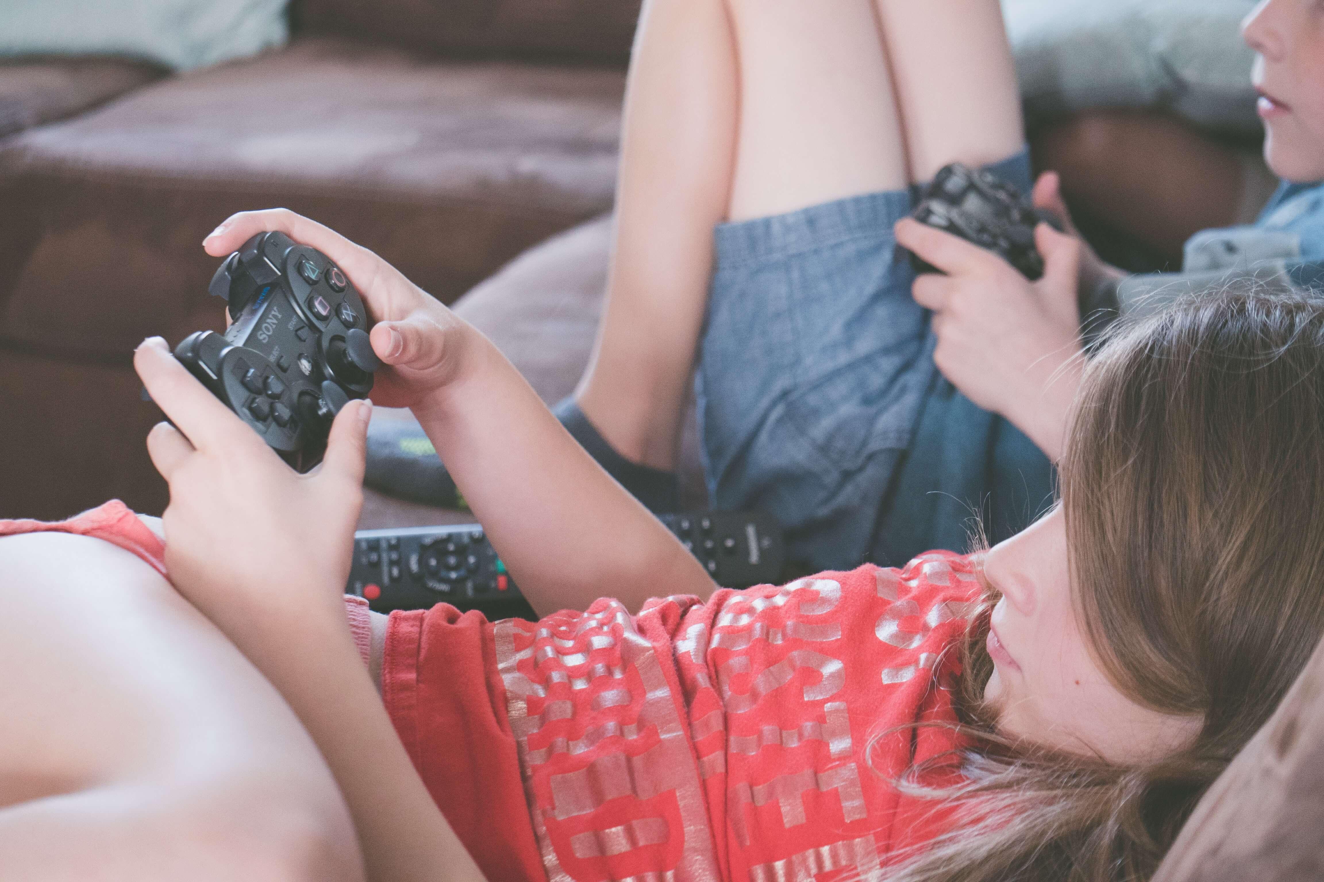 Videomängud lapsed
