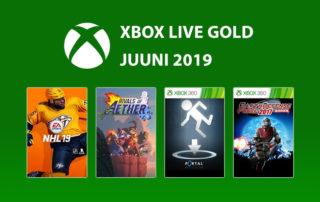 Xbox Live Gold Juuni 2019 tasuta mängud