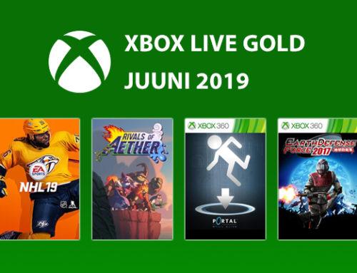 Xbox Live Gold tasuta mängud – Juuni 2019