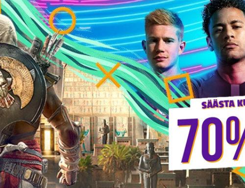 PS Store'i juuli suurmüük lõppeb juba kolmapäeval!