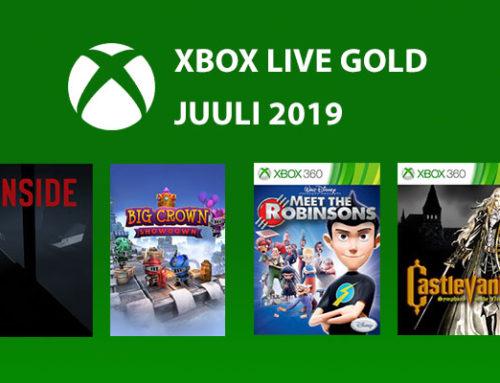 Xbox Live Gold tasuta mängud – Juuli 2019