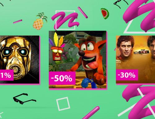 Üle 300 PlayStationi mängu kuni 60% soodsamalt!