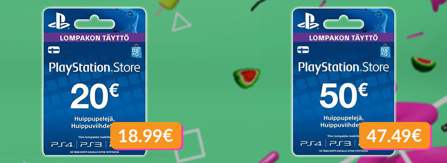 soome psn playstation kaardid eesti parima hinnaga