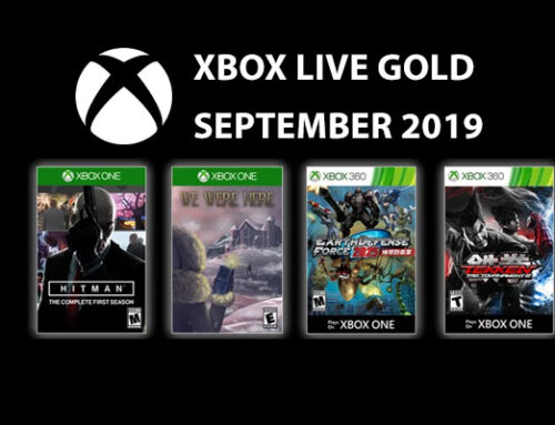 Xbox Live Gold tasuta mängud – September 2019