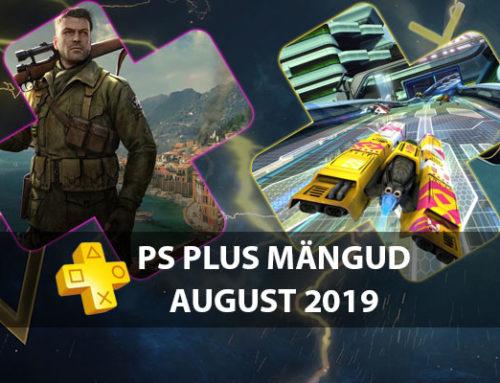 PlayStation Plus tasuta mängud – August 2019