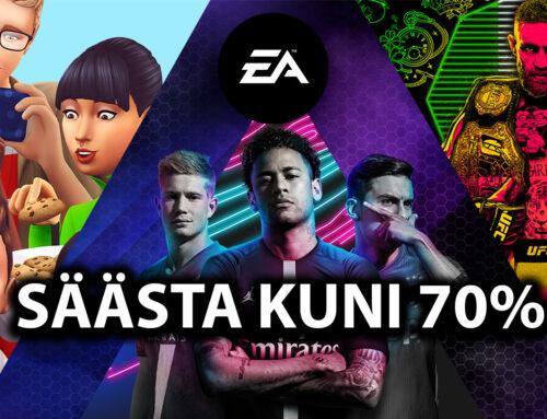 EA mängud PlayStation Store'st kuni 70% soodsamalt