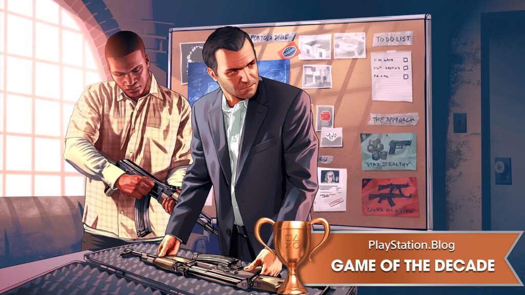 Grand Theft Auto V PS4 Game of the Decade