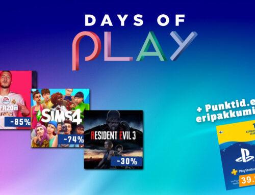 PS4 mängud kuni 60% soodsamalt!