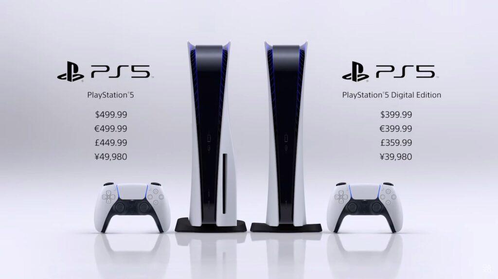 PlayStation 5 hinnad teada