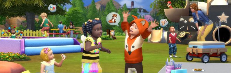 The Sims 4 Toddler Stuff kasvata lapsed suureks