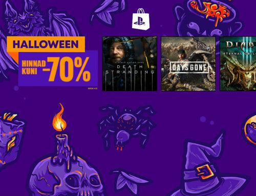 PlayStation Store'i Halloweeni soodusmüük!