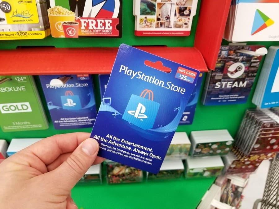 PSN rahakaart PS4 ja PS5 konsoolile