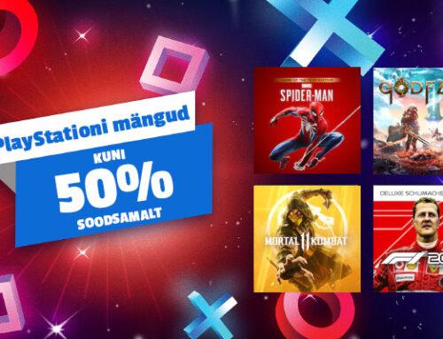 Säästa PlayStationi mängudelt kuni 50%