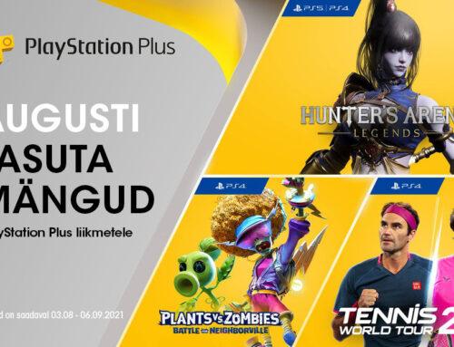 PlayStation Plus tasuta mängud – august 2021