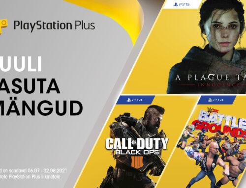 PlayStation Plus tasuta mängud PS4 ja PS5 mängukonsoolidele – juuli 2021