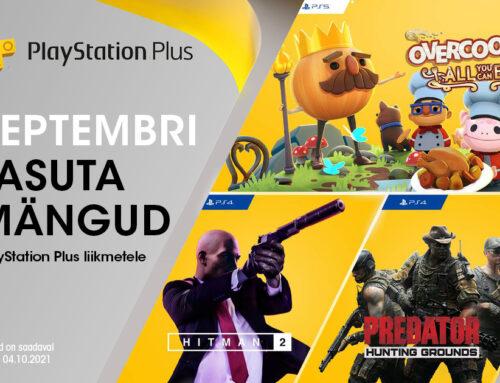 PlayStation Plus tasuta mängud – september 2021