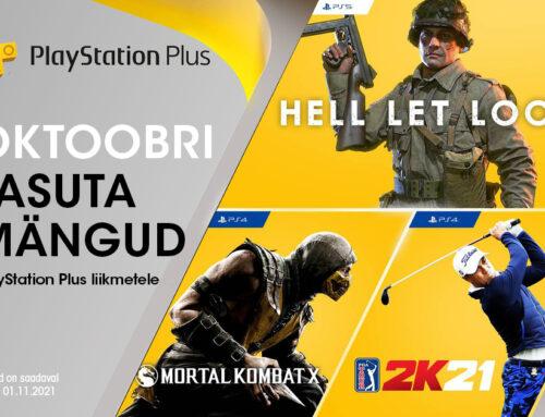 PlayStation Plus tasuta mängud – oktoober 2021