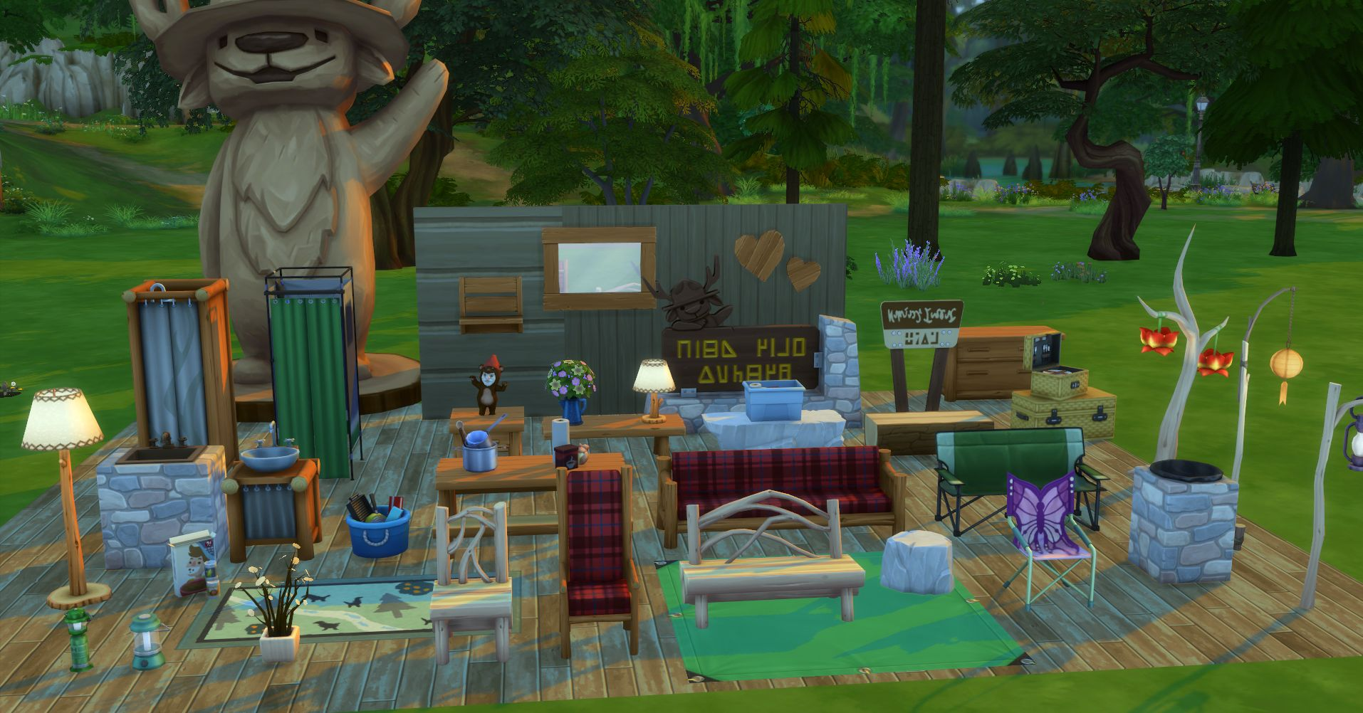 The sims 4 outdoor retreat pc mac punktid for Sims 4 fishing