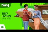 Embedded thumbnail for The Sims 4: Tiny Living Stuff DLC (PC/MAC)